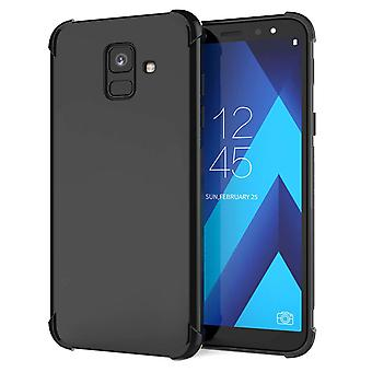 Samsung Galaxy A6 (2018) alfa TPU Gel - svart