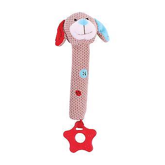 Bigjigs Toys weichen Plüsch Bruno Squeaker Rassel Spielzeug sensorische Entwicklung