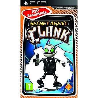 Secret Agent Clank Sony PSP Essentials Game