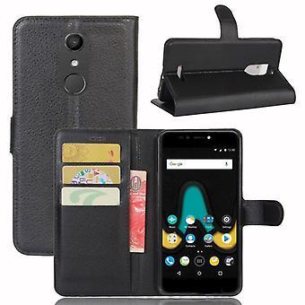 Pocket tegnebog premium sort-til WIKO Upulse beskyttelse ærme tilfælde dække pose nye