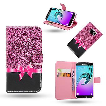 Samsung Galaxy A3 2016-Case/wallet Leather-Rosette