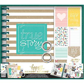 Create 365 12-Month Planner Box Kit-True Story