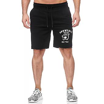 Tazzio fashion men's sweat short black