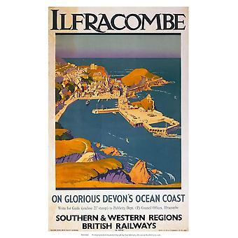 Ilfracombe Fridge Magnet