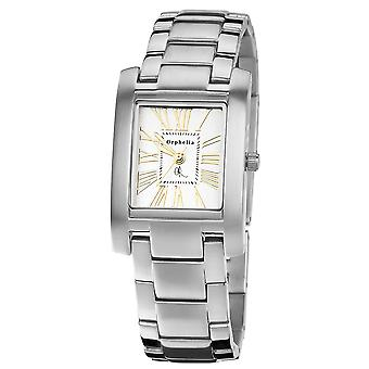 ORPHELIA Ladies Analogue Watch Solid Silver Stainless steel 122-2706-28
