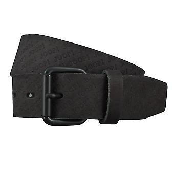JOOP! Jeans de cuir ceintures ceintures hommes ceinture noire 4386