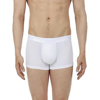 Hom Mesh Boxer Brief - White