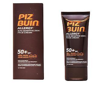 Piz Buin Allergy Face Cream Spf50+ 50 Ml Unisex