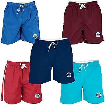 Duke D555 Mens Yarrow Mesh Lined King Plus Size Swimming Swim Swimwear Shorts