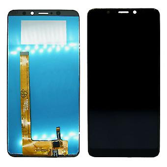 WIKO view XL display full LCD unit touch spare parts repair black new