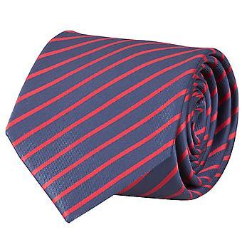 Tie, tie, tie, Binder, 8cm, blue red striped Fabio Farini,