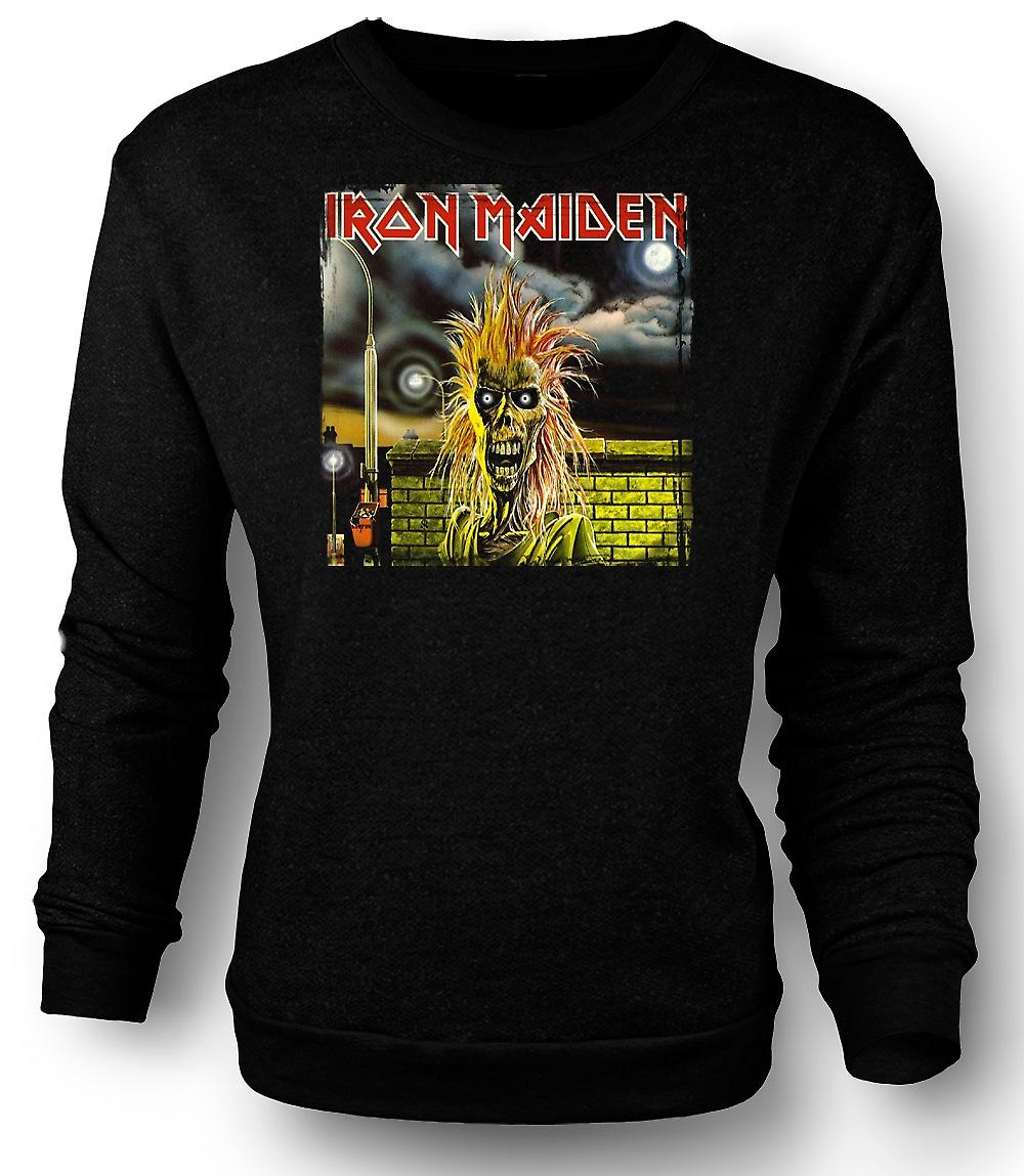 Mens Sweatshirt Iron Maiden - Album-Cover