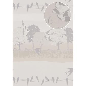Non-woven wallpaper ATLAS SIG-583-4