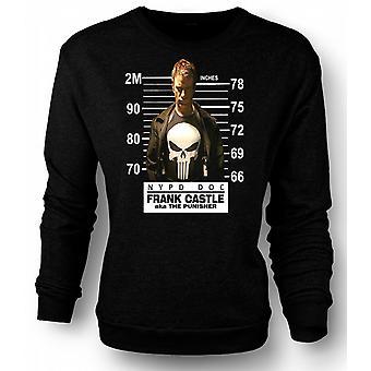 Mens Sweatshirt The Punisher - Movie - Mug Shot