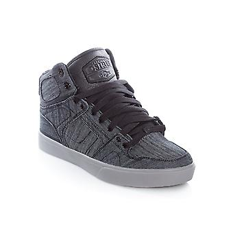 Osiris Black-Denim-Grey NYC83 Vulc DCN Shoe