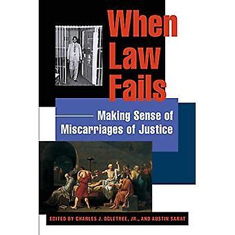 Når loven mislykkes: At gøre følelse af justitsmord (Charles Hamilton Houston Institute serie på Race & retfærdighed)