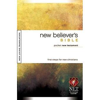 NLT NEW BELIEVERS BIBLE POCKET NT PB