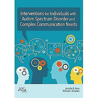Intervention Strategies for Individuals with Complex Communication Needs and Autism Spectrum Disorder (AAC)