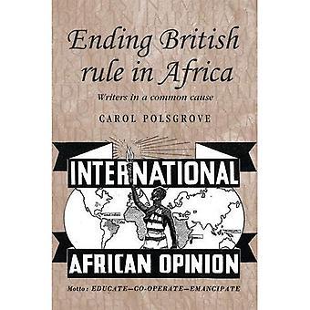 Kończąc brytyjskich rządów w Afryce: pisarzy w częstą przyczyną (badania w imperializmu)