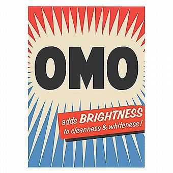 OMO Adds Brightness fridge magnet  (hb)