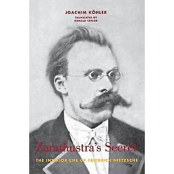 Zarathustras Secret The Interior Life of Friedrich Nietzsche by Kohler & Joachim