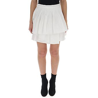 Ulla Johnson White Cotton Skirt