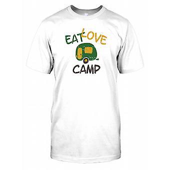 Eat Love Camp - śmieszne koszulki męskie