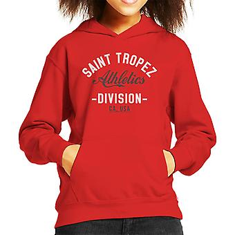Saint Tropez Athletics Division Kid's Hooded Sweatshirt