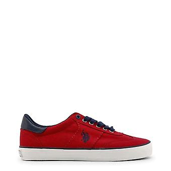 U.S. Polo Men Red Sneakers -- MARC082288