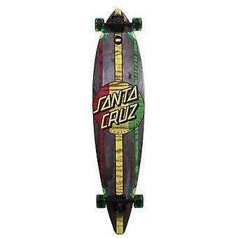 Santa Cruz Skateboard Longboard Mahaka Rasta, 9.9 x 43.5 Zoll, 11112015