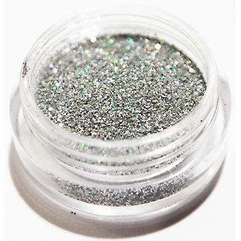 1pc Fine glitter argent