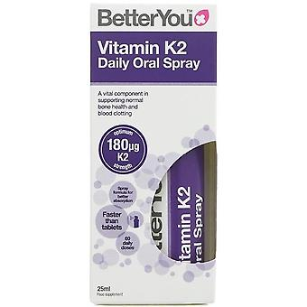 BetterYou Vitamin K2 Oral Daily Oral Spray 25 ml