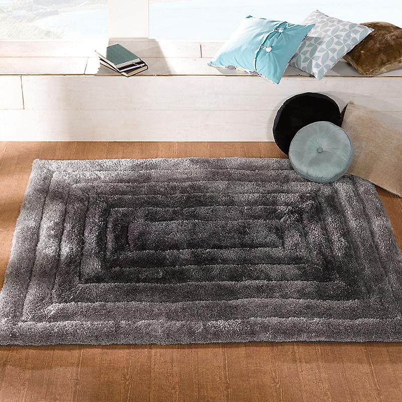 Rugs - Verge Ridge in Black & Grey