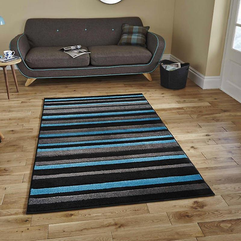 Rugs - Mantra MT22 - Black & Blue
