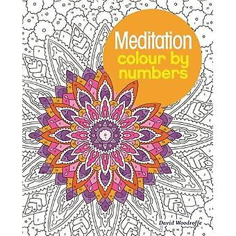 Meditation Colour by Numbers by Arpad Olbey - 9781784287689 Book