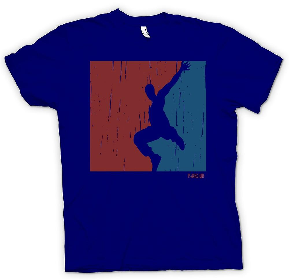 Herr T-shirt - Parkour - Free Running - Cool