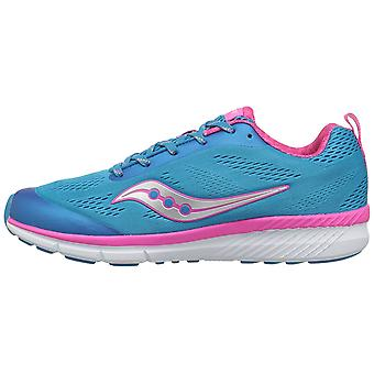 Kids Saucony Girls Ideal Low Top Lace Up Running Sneaker
