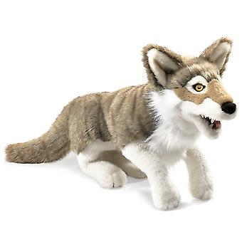 Hand Puppet - Folkmanis - Wolf Gray New Animals Soft Doll Plush Toys 2898
