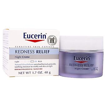 Eucerin redness relief soothing night creme, 1.7 oz