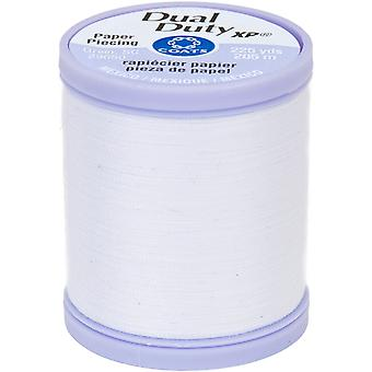 Dual Duty XP Paper Piecing Thread 225yd-White S942-0100