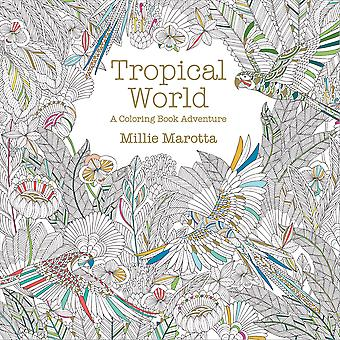 Lark Books-Tropical World Coloring Book LB-70913