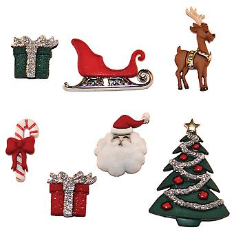 Dress It Up Holiday Embellishments Christmas Eve Diuhlday 2464