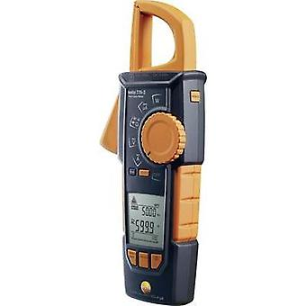 Current clamp, Handheld multimeter digital testo True-rms Stromzange - testo 770-3 Calibrated to: Manufacturer standards