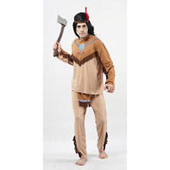 Guirca Fringed Indian Costume Adult (Costumes)