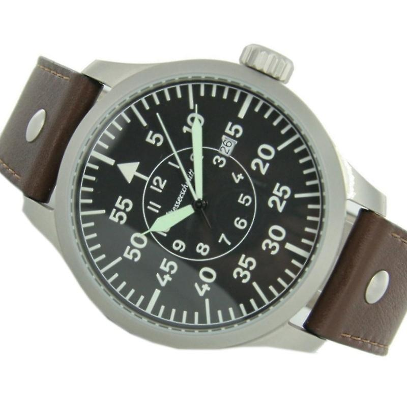 Aristo Messerschmitt Men's clock XL Big Pilot's Watch ME-47XL