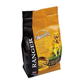 Davies Ranger hund kylling & ris 2,5 kg
