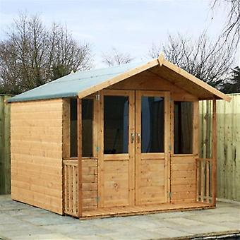Mercia 7ft x 8ft Traditional Shiplap Summerhouse