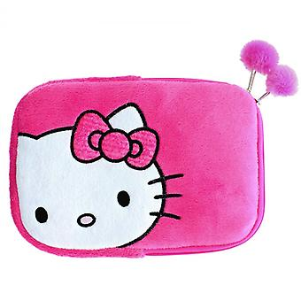 Bonjour KITTY Tablet Sleeve 7 rose-8tum universel peluche