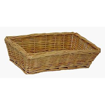 Small Rectangular Wicker Tray