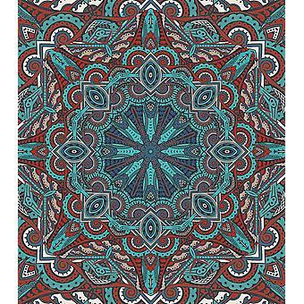 Mandala marokkansk havet plakat Print af Aimee Stewart